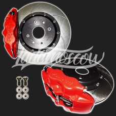 R15 Front Ventilated Disc Brakes 4-Piston Caliper LADA 2108-2115 SAMARA Kalina