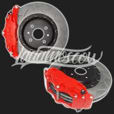 R16 Front Ventilated Disc Brakes 4-Piston Caliper LADA 2108-2115 SAMARA Kalina