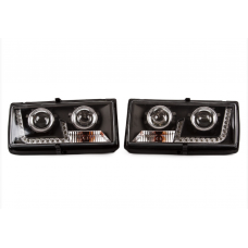 LED Lensed Headlights Set LADA 2104 2105 2107 RIVA NOVA LAIKA