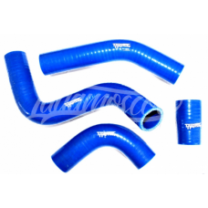 Armed Silicon Radiator Hoses Pipes Set Kühler Stutzen Injection LADA 21073 RIVA