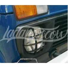 Headlight Protection Scheinwerfer Schutz LADA 2121 21213 21214 2131 NIVA 4x4