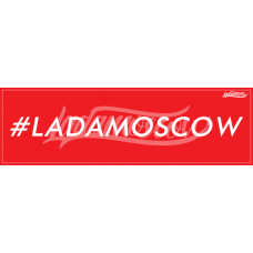 #ladamoscow Sticker Red