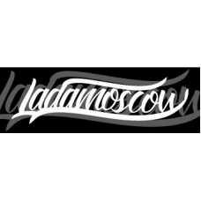 Ladamoscow Sticker White