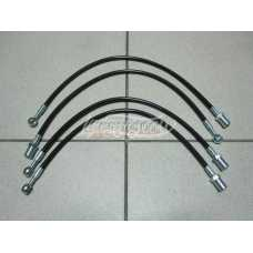Armed Front Brake Hoses Set (4 Pieces) LADA 2121 21213 21214 2131 NIVA 4x4