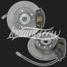 Front Ventilated Disc Brakes Kit R16 LADA 2123 Chevy NIVA 4x4