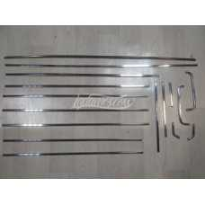 Body Chrome Moldings Strips Set LADA 2103 2106